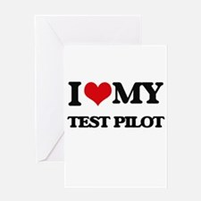 I love my Test Pilot Greeting Cards
