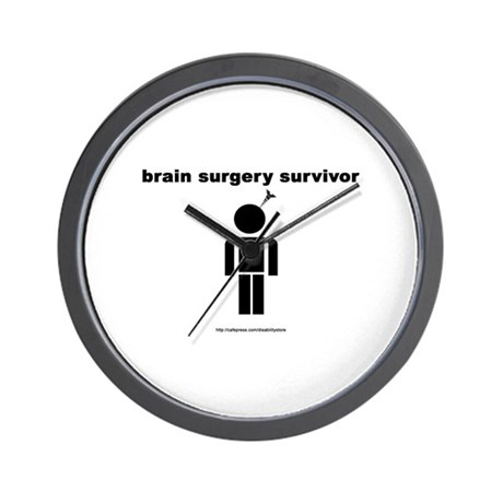 Brain Surgery Survivor Wall Clock