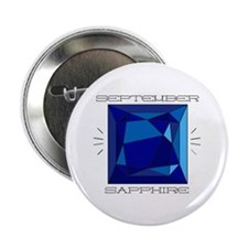 "September Sapphire 2.25"" Button (10 pack)"