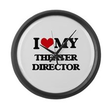 I love my Theater Director Large Wall Clock