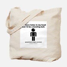 Two Holes Short of... Tote Bag