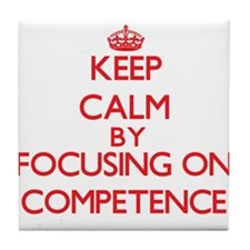 Competence Tile Coaster