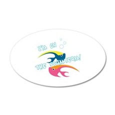 Swimteam Fish Wall Decal