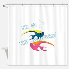 Swimteam Fish Shower Curtain