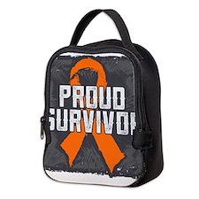 Proud Kidney Cancer Neoprene Lunch Bag