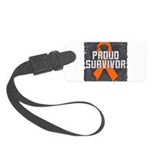 Proud Kidney Cancer Luggage Tag