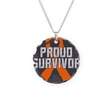 Proud Kidney Cancer Necklace