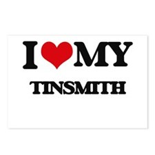 I love my Tinsmith Postcards (Package of 8)