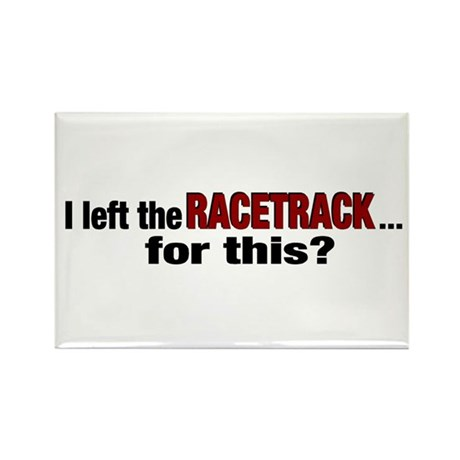 Racetrack Rectangle Magnet (10 pack)