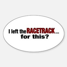 Racetrack Oval Decal