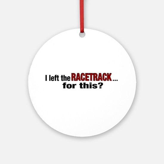 Racetrack Ornament (Round)