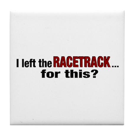 Racetrack Tile Coaster