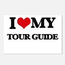 I love my Tour Guide Postcards (Package of 8)