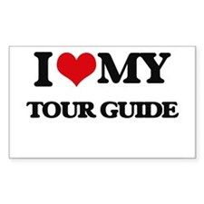 I love my Tour Guide Decal