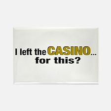 Casino Rectangle Magnet