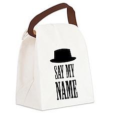 Heisenberg Say My Name Canvas Lunch Bag