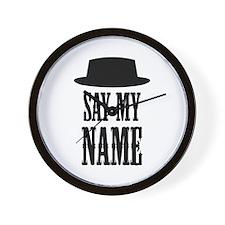 Heisenberg Say My Name Wall Clock