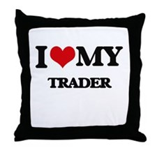 I love my Trader Throw Pillow