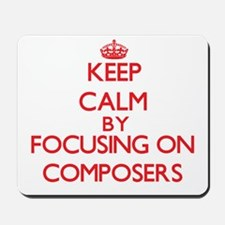 Composers Mousepad