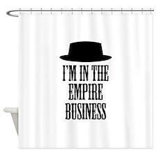 Heisenberg Business Shower Curtain