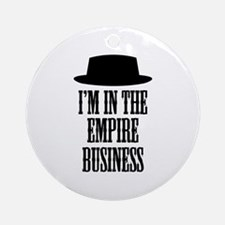 Heisenberg Business Ornament (Round)