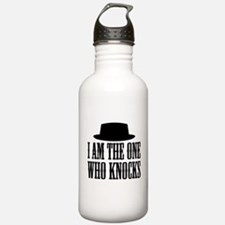 Heisenberg Knocks Sports Water Bottle