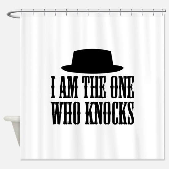 Heisenberg Knocks Shower Curtain