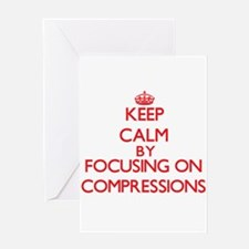 Compressions Greeting Cards