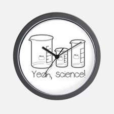 Yeah, Science! Wall Clock