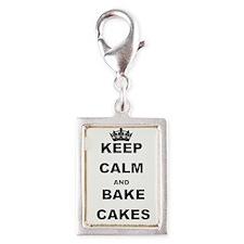 KEEP CALM AND BAKE CAKES Charms