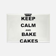 KEEP CALM AND BAKE CAKES Magnets