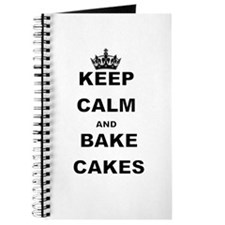 KEEP CALM AND BAKE CAKES Journal