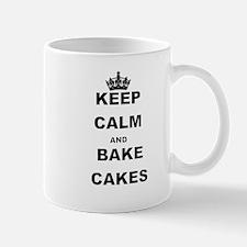 KEEP CALM AND BAKE CAKES Mugs