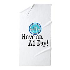 Have an A1 Day! Beach Towel