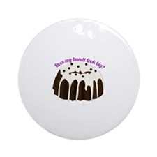 Bundt Look Big Ornament (Round)