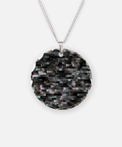 Black Mother of Pearl Necklace