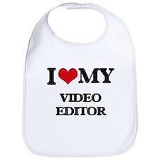 I love my Video Editor Bib