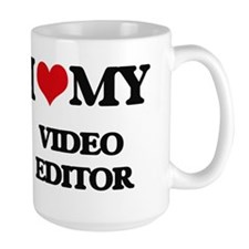 I love my Video Editor Mugs