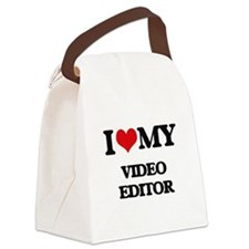 I love my Video Editor Canvas Lunch Bag