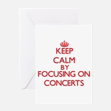 Concerts Greeting Cards