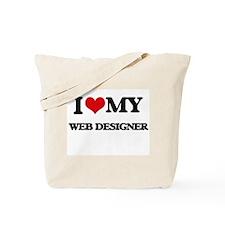 I love my Web Designer Tote Bag
