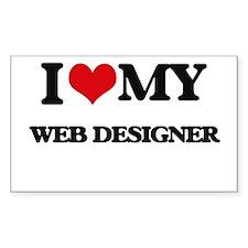 I love my Web Designer Decal