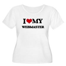I love my Webmaster Plus Size T-Shirt