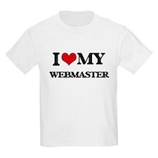 I love my Webmaster T-Shirt