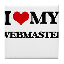 I love my Webmaster Tile Coaster