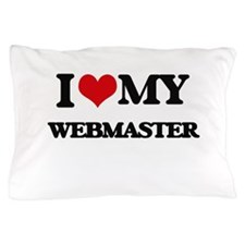 I love my Webmaster Pillow Case