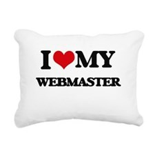 I love my Webmaster Rectangular Canvas Pillow