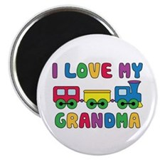 Love My Grandma Magnet