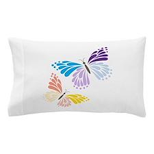 Two Butterflies Pillow Case