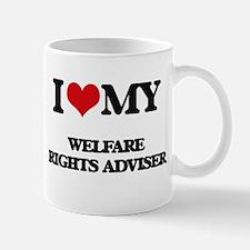 I love my Welfare Rights Adviser Mugs